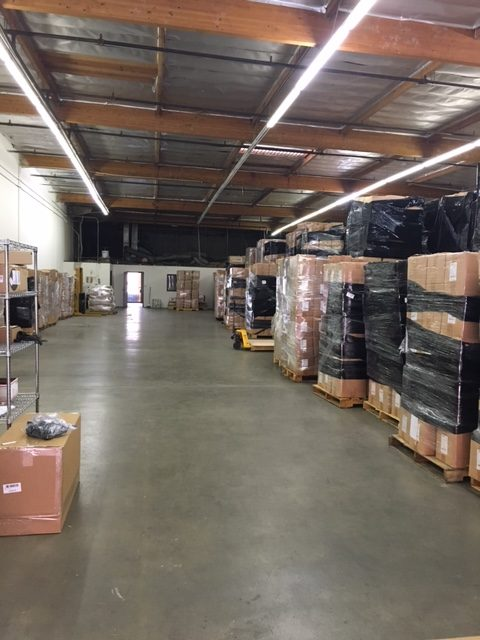 Packages At Warehouse
