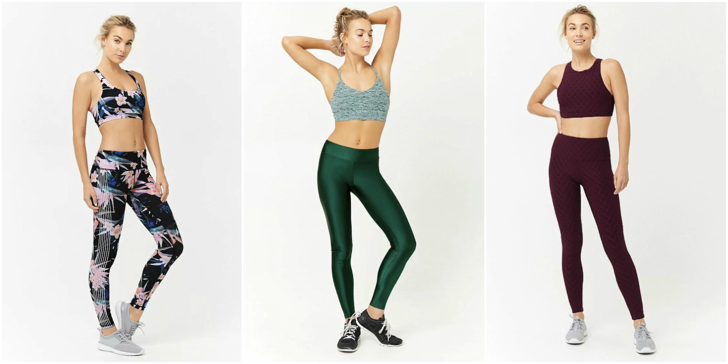 Forever21 yoga pants