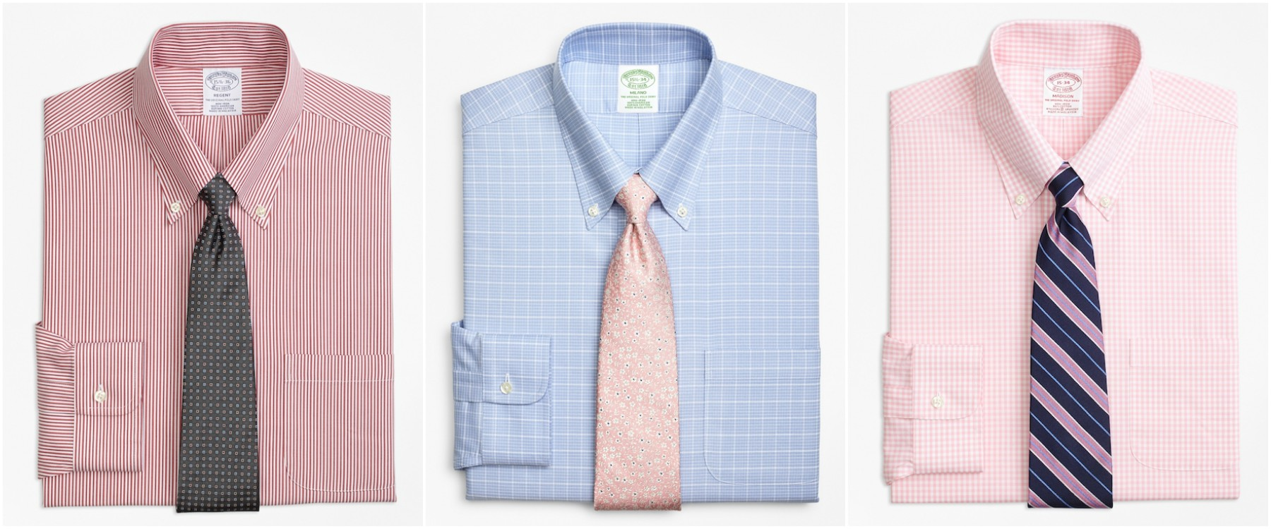 brooksbrothers non iron shirt