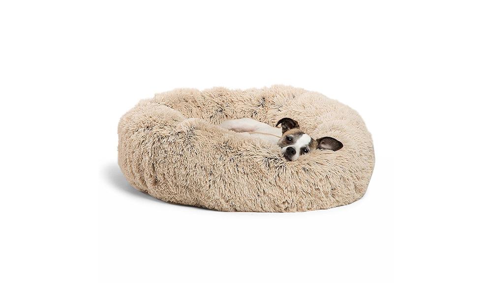 dog bed donut cuddler