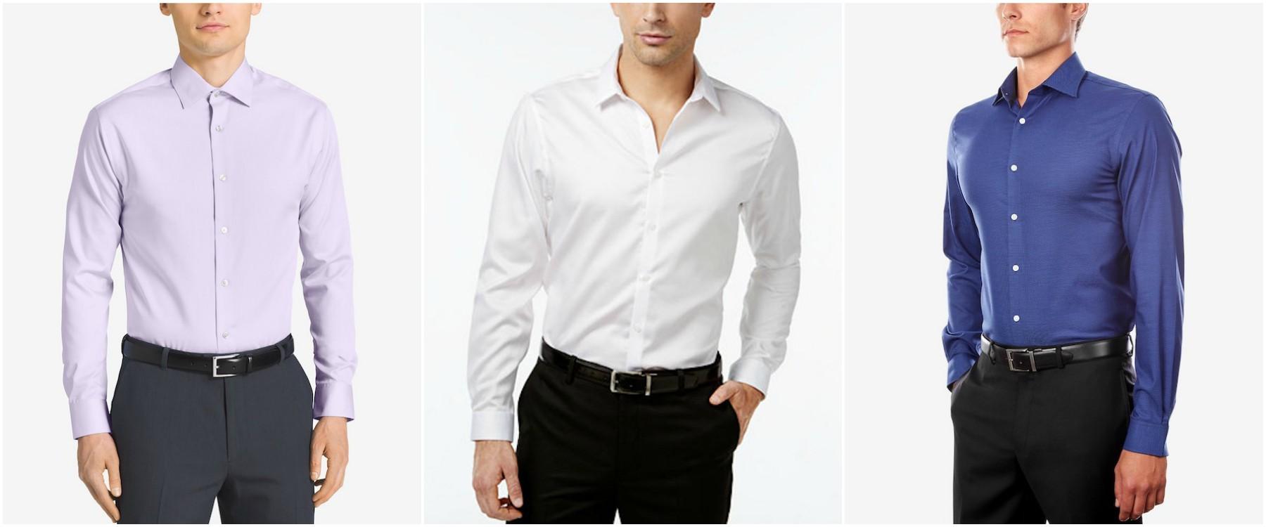 macys non iron shirt