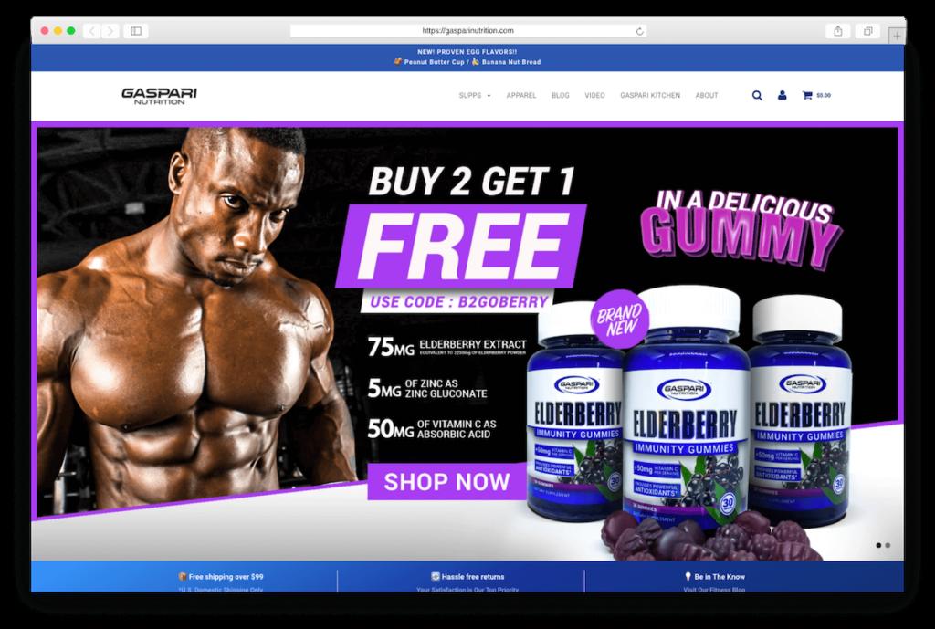Supplements gasparinutrition.com