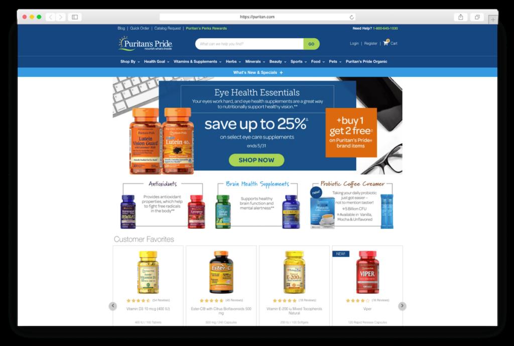 Supplements puritan.com