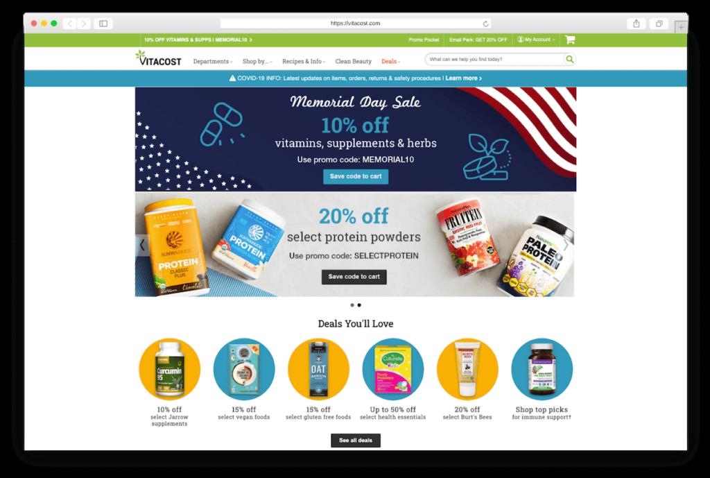 Supplements vitacost.com