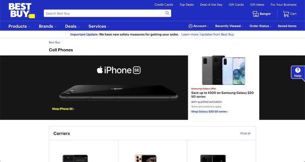 BestBuy Smartphones