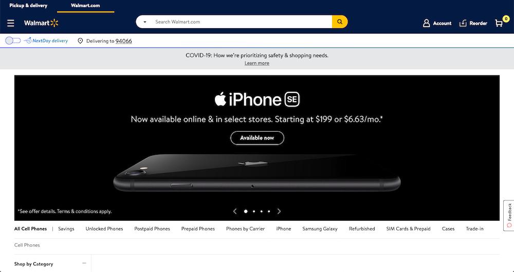 Walmart Smartphones