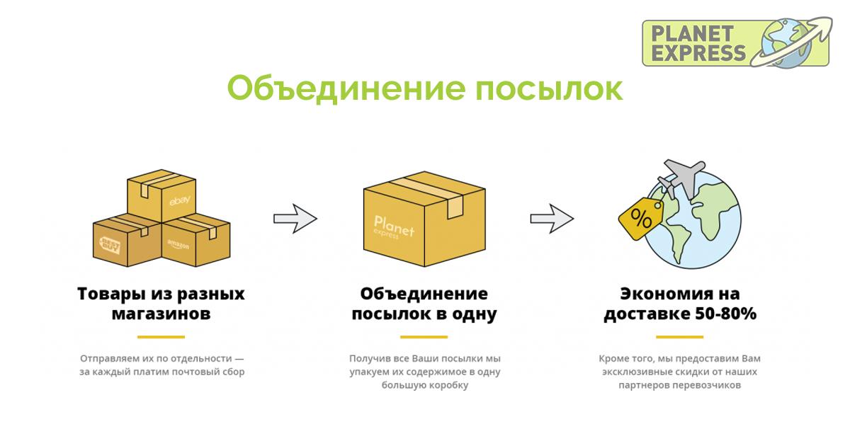 consolidation Объединение посылок