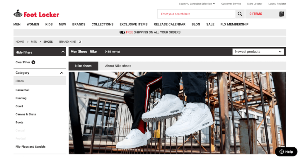 Nike Foot Locker USA