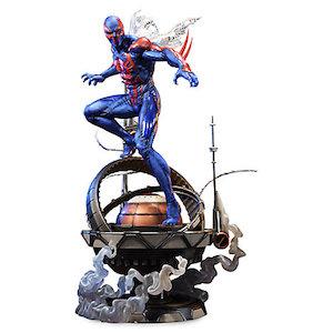 Spider Man statue