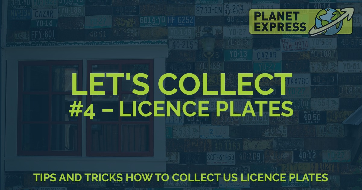 lets collect licence plates