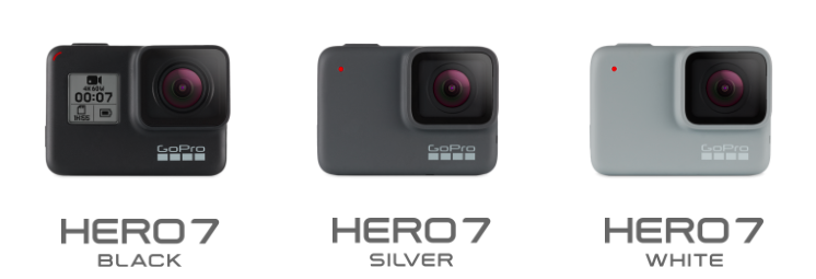 GoPro HERO7 White Silver Black
