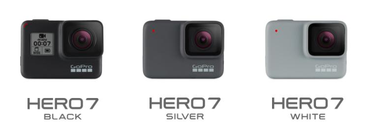 GoPro HERO7 White Silver Black
