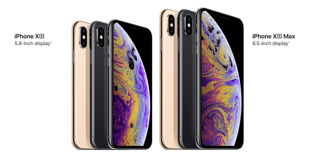iPhone Xs and Xs Mac