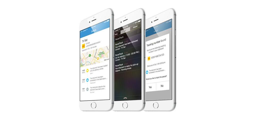 Parcel Track app