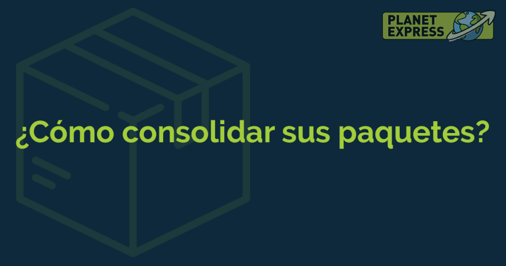 ESP how to consoldiate packages
