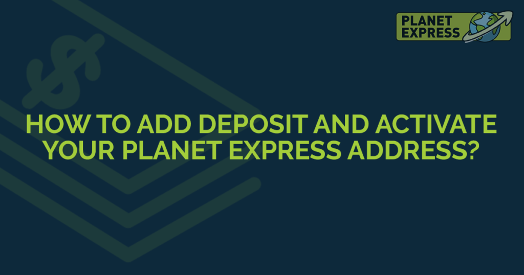 how to add deposit