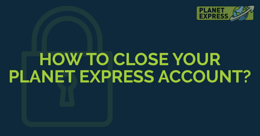 how to close your account