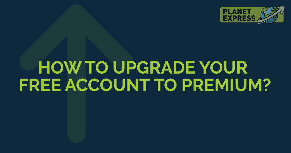 how to upgrade your account