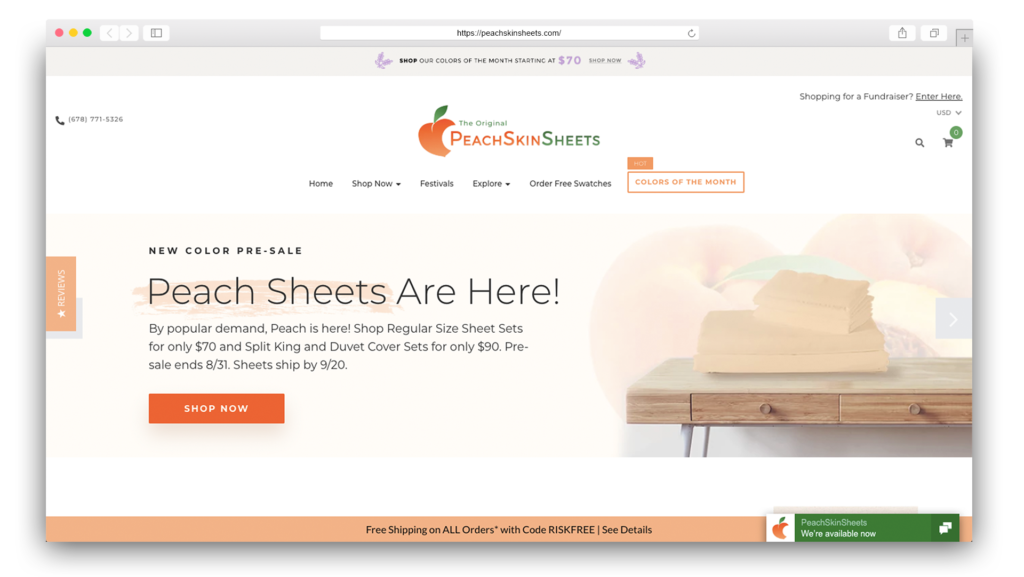 PeachSkinSheets Beddings