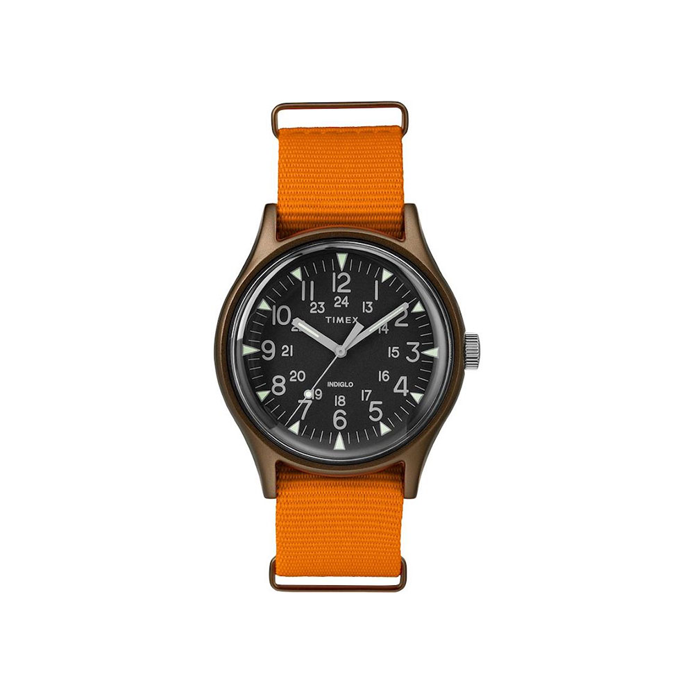 Timex MK1 Aluminum 40mm Fabric Strap Watch