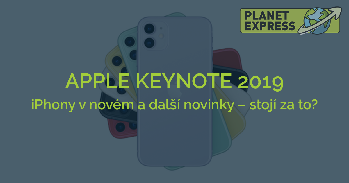 Apple Keynote 2019 CZ
