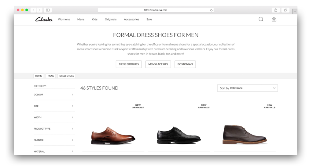 Dress Shoes Clarks