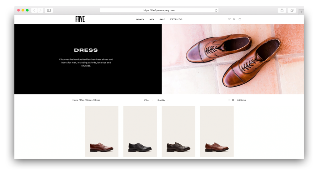 Dress Shoes Frye