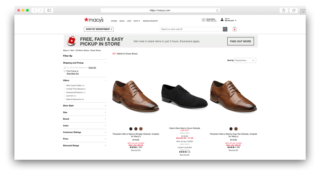 Dress Shoes Macys