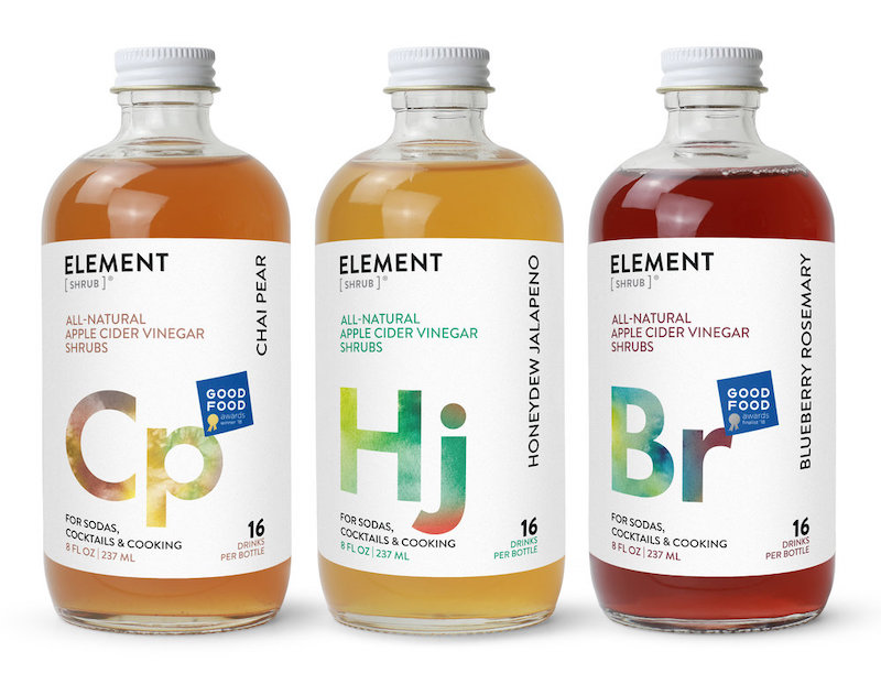 Element Shrub Ciders