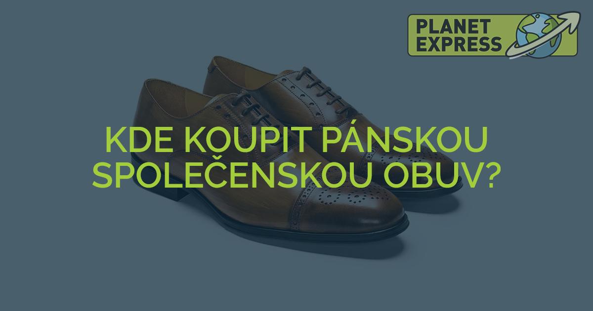 Kde koupit pánskou společenskou obuv