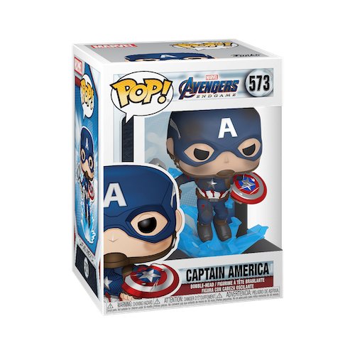 4. Funko Pop Captain America