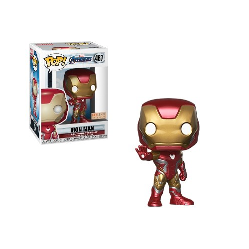 7. Funko Pop Iron Man