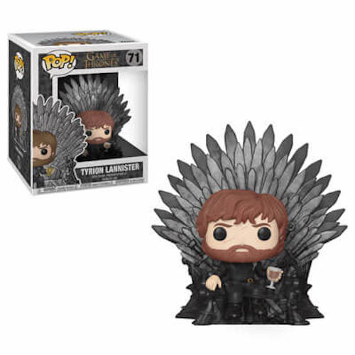 GoT Tyrion on Iron Throne