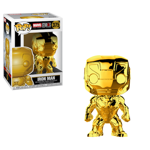 Marvel Iron Man Gold
