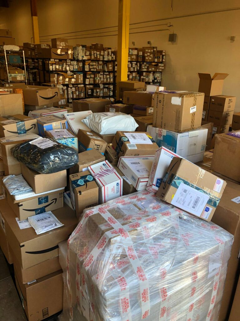 Oregon warehouse packages