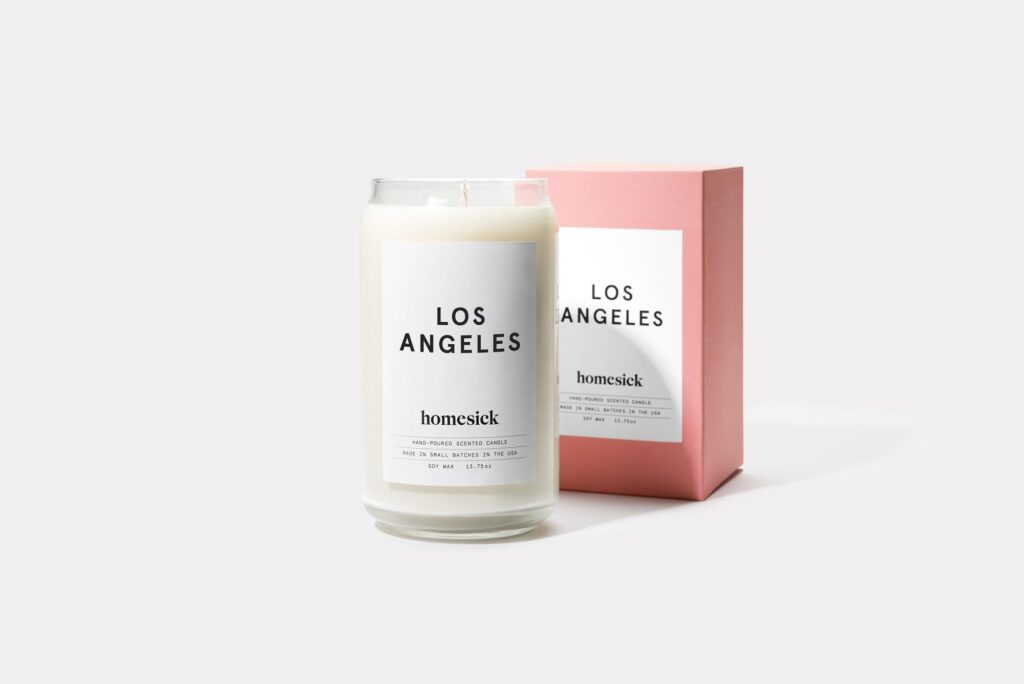 Homesick Candle Los Angeles