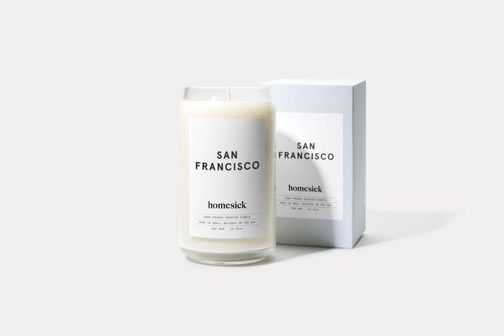 Homesick Candle San Francisco