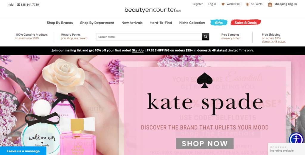 Сайт Beautycounter.com