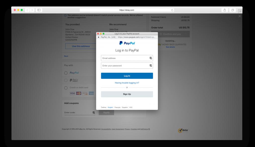 ebay оплачиваем заказ