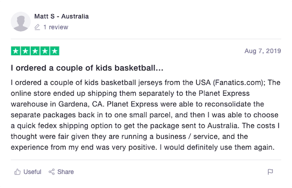 Planet Express Review Australia 3