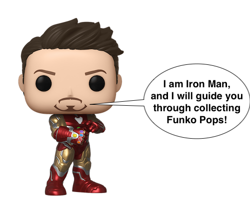 Iron Man figurine