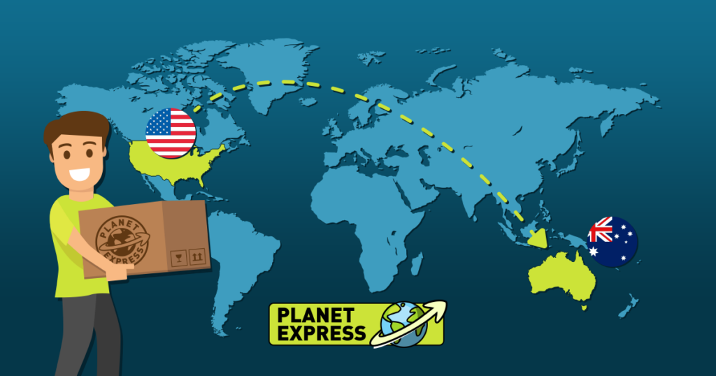 Shipping from the USA to Australia