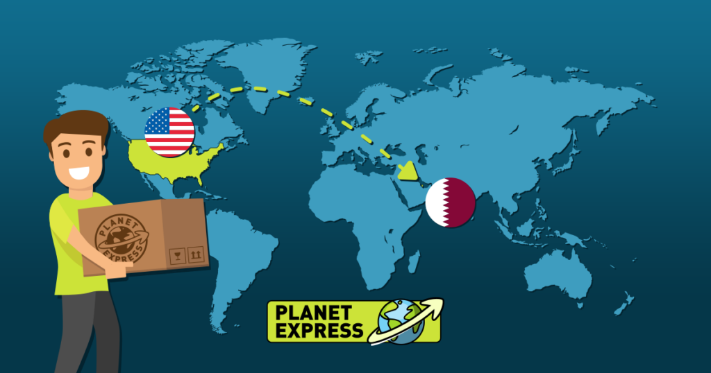 Shipping from the USA to Qatar
