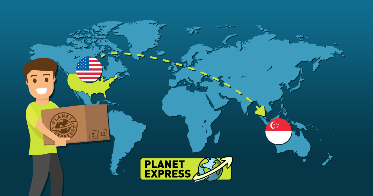 Shipping from the USA to Singapore
