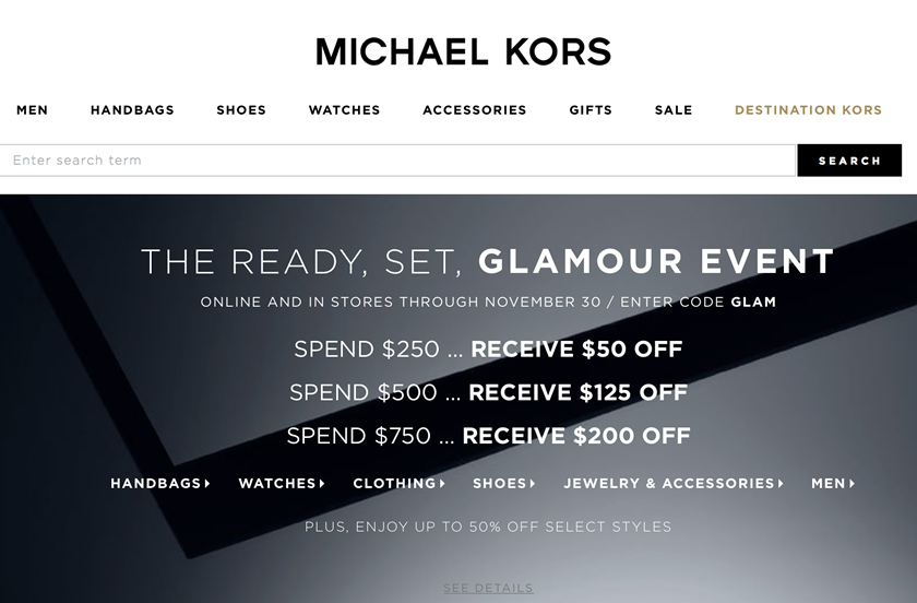 michael kors cyber monday sale