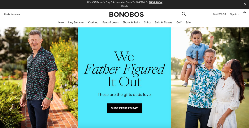 Bonobos official website