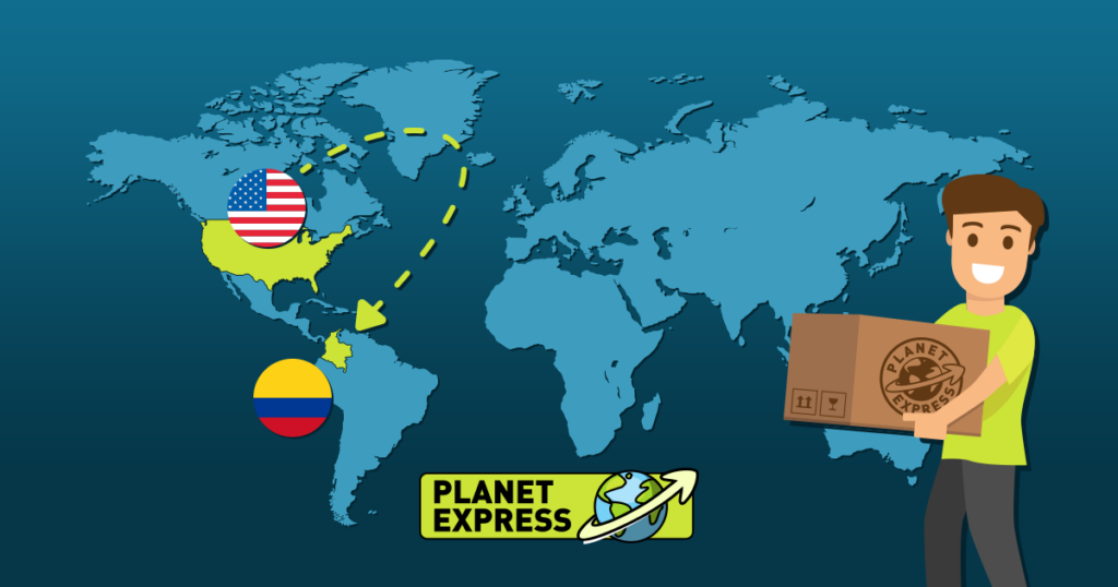 Shipping from the USA to Colombia
