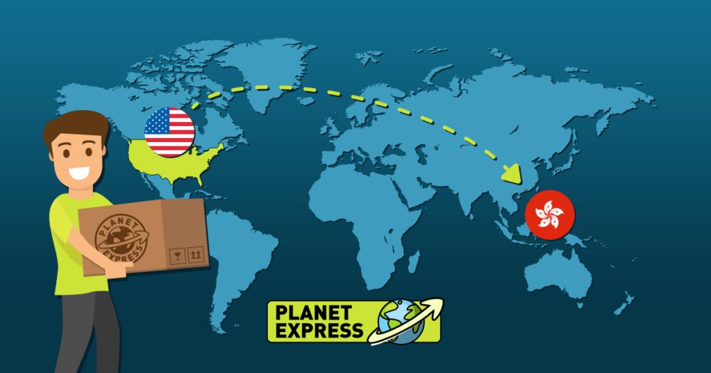Shipping from the USA to Hongkong