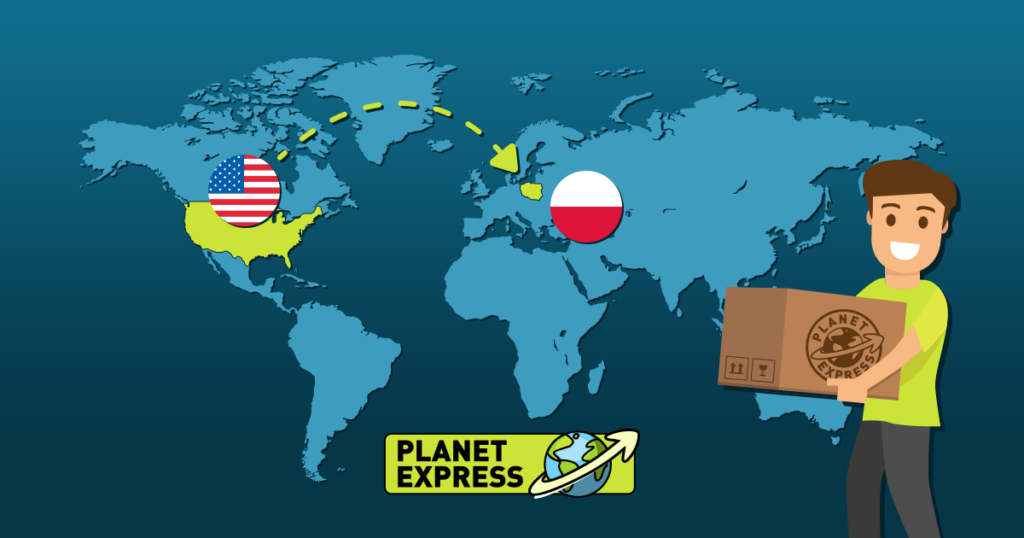 Shipping from the USA to Poland