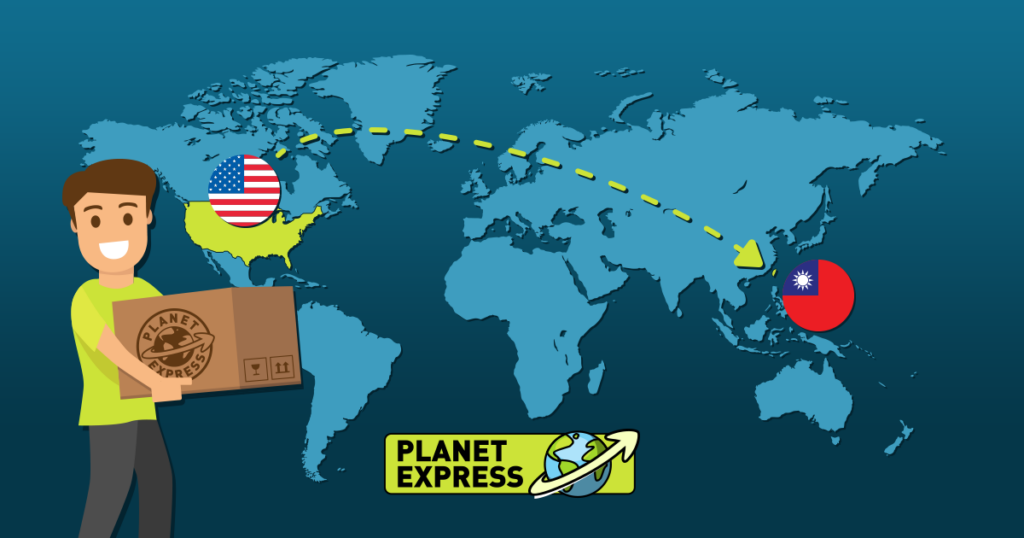Shipping from the USA to Taiwan